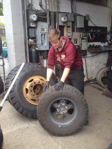Ryder Norman at Dumont Tires