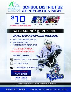 SD62 Victoria Royals Night