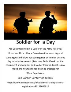 Soldier for a Day